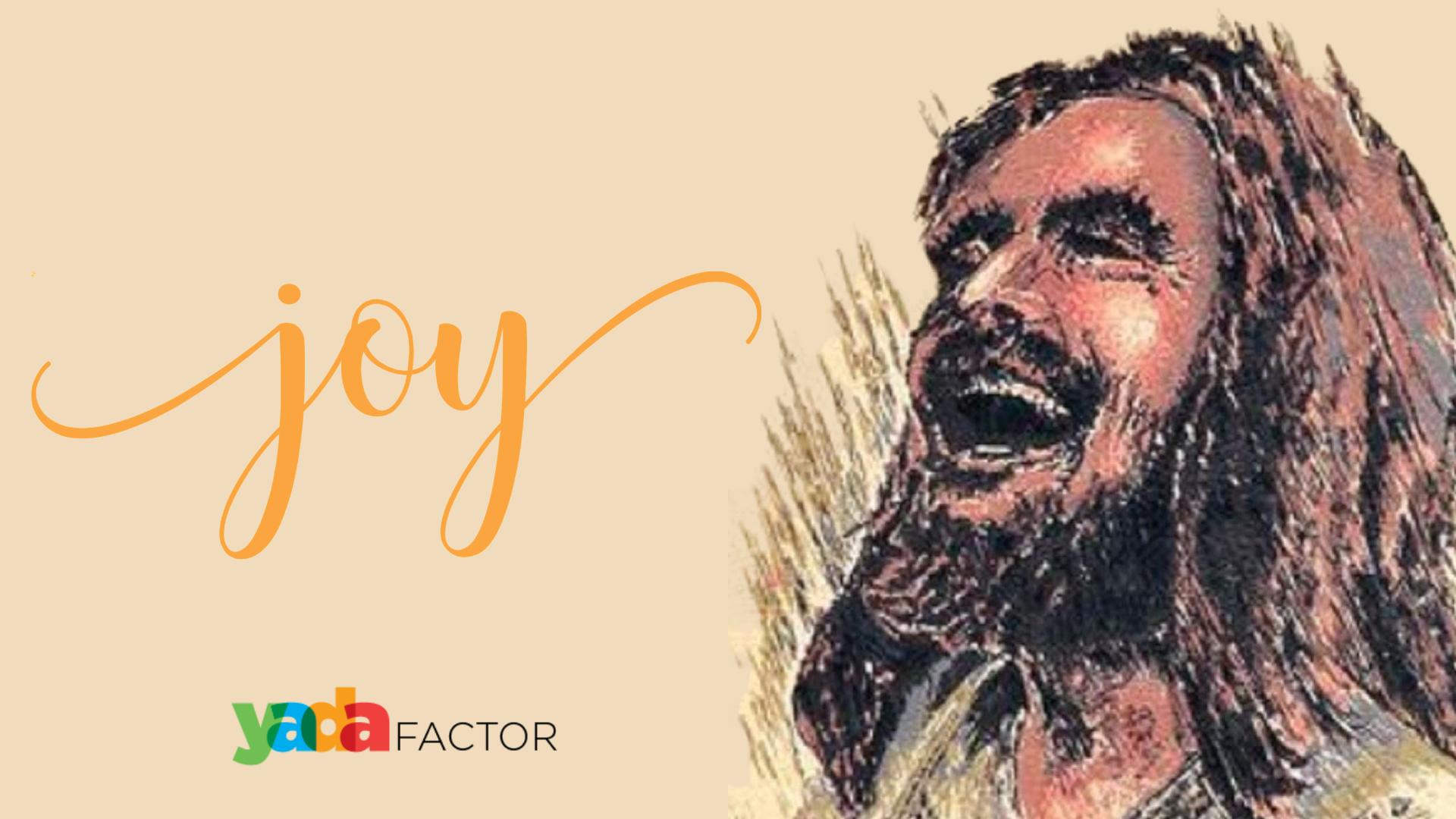 The joy set before Him.